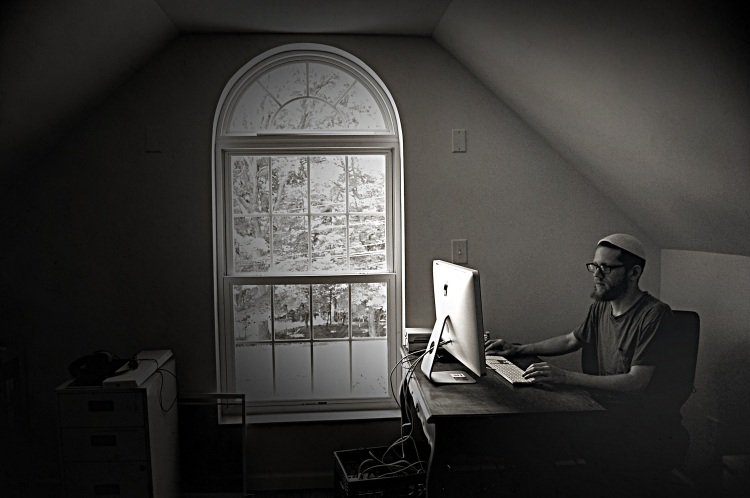 Shir Yaakov at home; photo by Nick Levitin